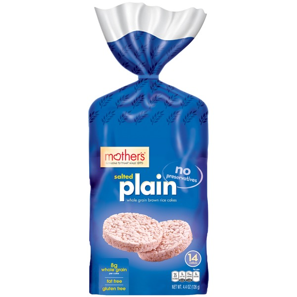 Mother's Plain Salted Rice Cakes