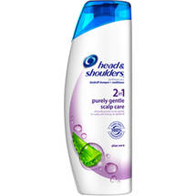 Head & Shoulders Purely Gentle Scalp Care 2 in 1 Dandruff Shampoo + Conditioner