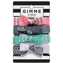 Gimme Double Chevron Ribbon Elastics