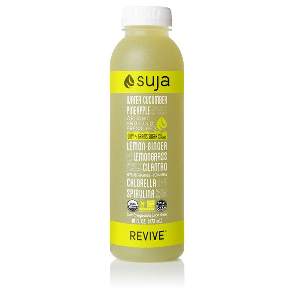 Suja Organic Cucumber Pineapple Revive Juice