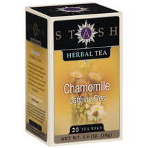 Stash Chamomile Caffeine Free Herbal Tea Bags