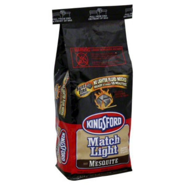 Kingsford Instant Charcoal Briquets with Mesquite