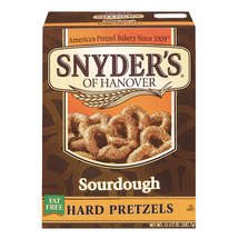 Snyders Of Hanover Hard Sourdough Fat Free Pretzels