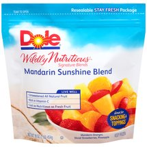 Dole Wildly Nutritious Signature Blends Mandarin Sunshine Blend Frozen Mixed Fruit