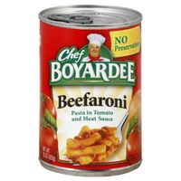 Chef Boyardee Pasta in Tomato and Meat Sauce Beefaroni