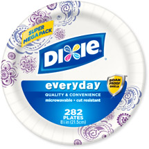 Dixie Everyday 8.5in Plates