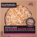 Marketside Extra Large Thin Crust Extreme Bacon Pizza