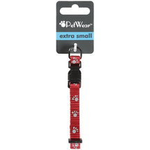 Rose America Corp. Petwear Extra Small Reflective Collar Red