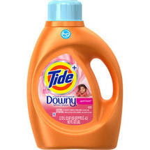 Tide with a Touch of Downy High Efficiency April Fresh Liquid Laundry Detergent