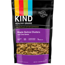 KIND Healthy Grains Clusters Maple Quinoa Clusters with Chia Seeds