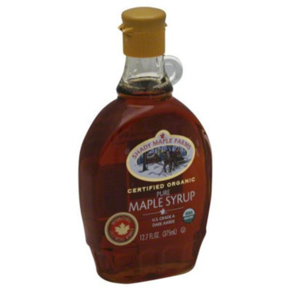 Shady Maple Farm 100% Pure Organic Maple Syrup Grade A