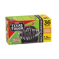 H-E-B Texas Tough With Tough Flex Trash Bags