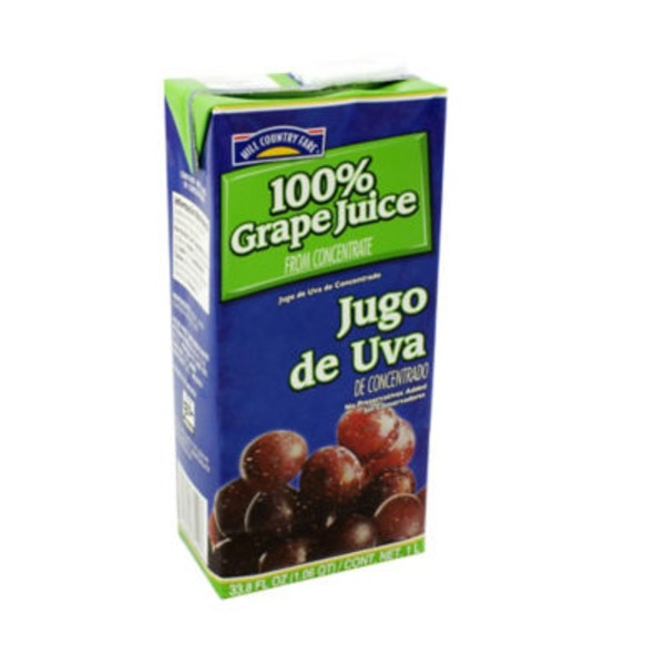 Hill Country Fare Grape Juice