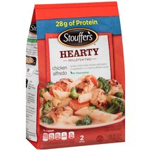 Stouffer's Skillets w/White Meat Chicken Pasta & Vegetables Chicken Alfredo