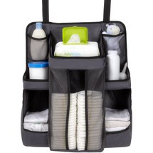 DEX Products Nursery Organizer Gray