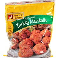 Foster Farms Homestyle Turkey Meatballs