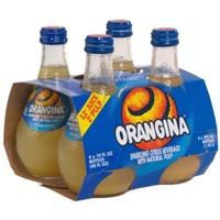 Orangina Beverage Sparkling Citrus - 4 CT