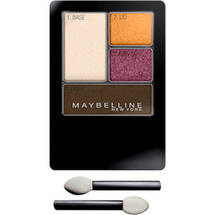 Maybelline Expert Wear Eyeshadow Quads Charcoal Smokes Autumn Coppers