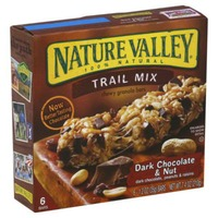 Nature Valley Fruit & Nut Trail Mix Dark Chocolate & Nut Chewy Granola Bars