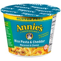 Annie's Homegrown Gluten Free Rice Pasta & Cheddar Macaroni & Cheese Micro Cup Mac & Cheese