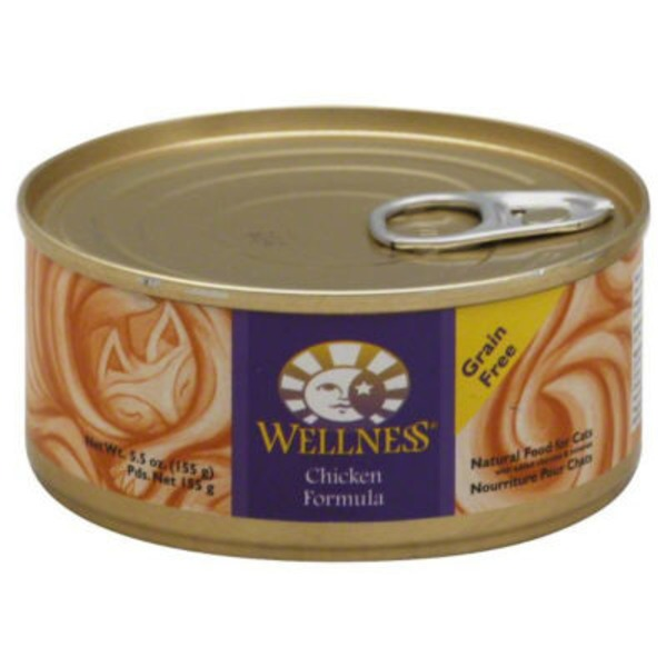 Wellness Grain Free Chicken Formula Cat Food