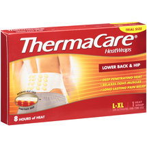 Thermacare Lower Back & Hip Heat Wrap L-XL