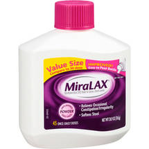 MiraLAX Unflavored Laxative Powder