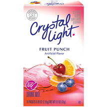 Crystal Light On The Go Fruit Punch Drink Mix