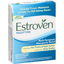 Estroven Sleep Cool Multi-Symptom Menopause Relief Dietary Supplement Caplets
