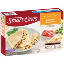 Weight Watchers Smart Ones Morning Express Breakfast Quesadilla Frozen Breakfast