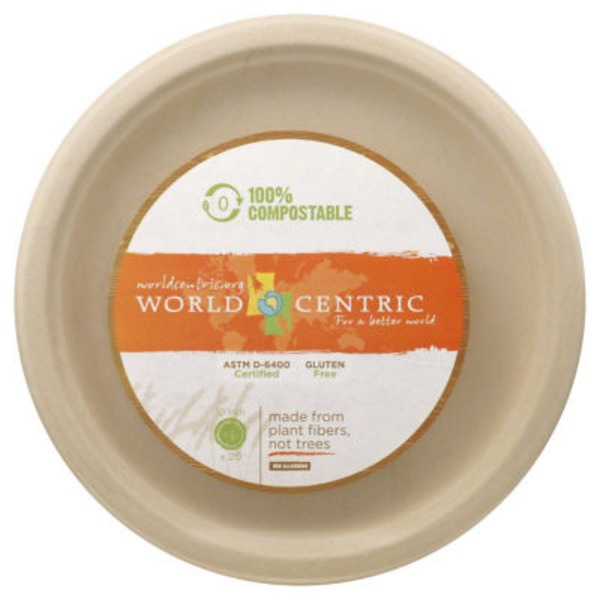 World Centric 10 Inch Wheat Straw Plates