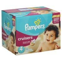 Pampers Cruisers Size 4 Super Pack Diapers
