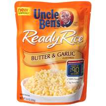 Uncle Bens Butter & Garlic Ready Rice