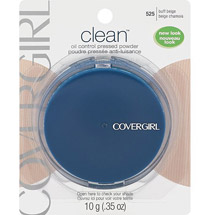 CoverGirl Clean Oil Control Pressed Powder Buff Beige 525