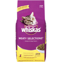 Whiskas Meaty Selections Chicken & Turkey Flavors Cat Food
