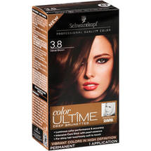 Schwarzkopf Color Ultime Deep Brunettes Hair Coloring Kit 3.8 Velvet Brown