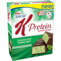 Kellogg's Special K Protein Chocolatey Dipped Mint Meal Bar 1.59oz 5ct