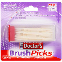 The Doctor's BrushPicks Interdental Toothpicks