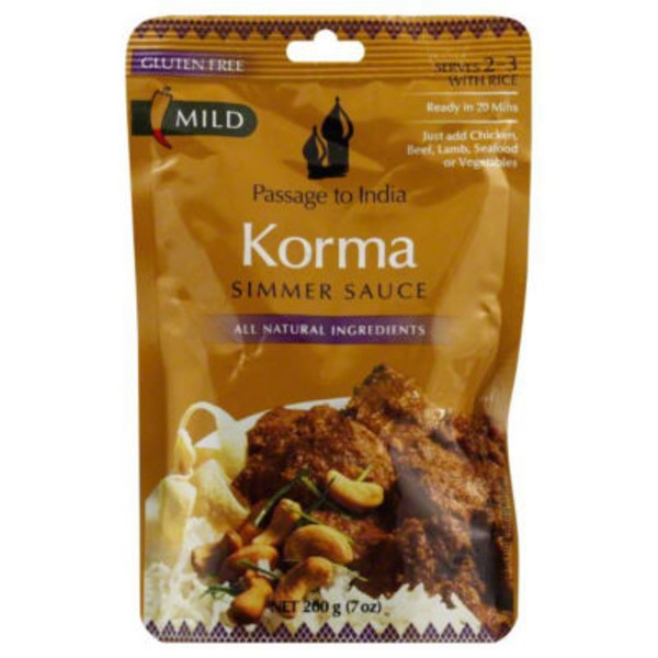 Passage To India Korma Simmer Sauce