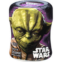 Trident White Star Wars Yoda Spearmint Sugar Free Gum