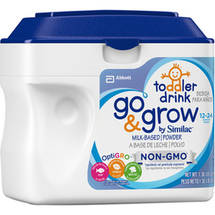 Similac Go & Grow Non-GMO Milk-Based Powder Toddler Drink