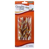 Good 'n' Fun Triple Flavor Chew Twists - 10 CT