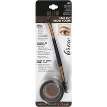Milani Stay Put Brow Color Medium Brown Soft Brown