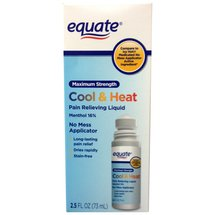 Equate Cool & Heat Pain Relieving Liquid