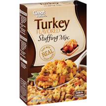 Great Value Turkey Flavored Stuffing Mix