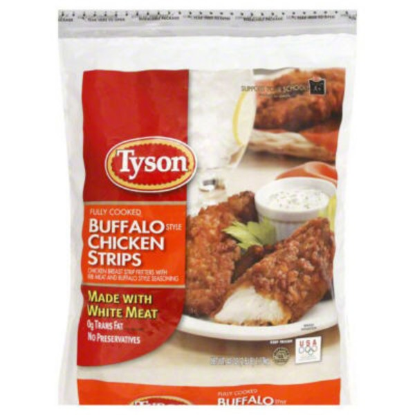Tyson Frozen Breaded Buffalo Style Chicken Strips