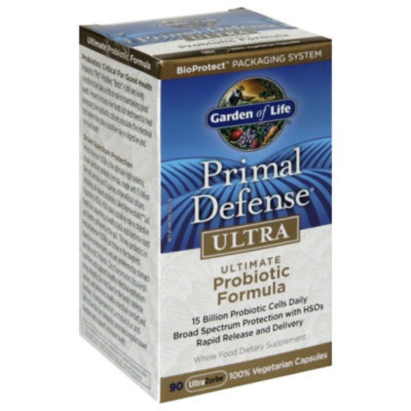 Garden of Life Primal Defense Ultra.