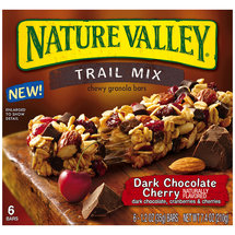 Nature Valley Trail Mix Dark Chocolate Cherry Chewy Granola Bars