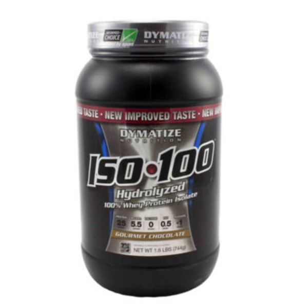 Dymatize Nutrition Chocolate 100% Hydrolized Whey Protein Isolate