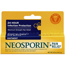 Neosporin Plus Pain Relief First Aid Antibiotic Ointment